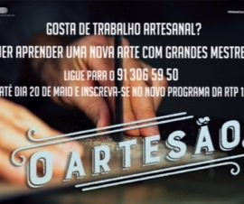 """Novo Programa da RTP """"O ARTESÃO"""""""