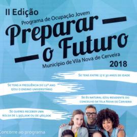 """Programa de Ocupação Jovem """"Preparar o Futuro"""""""