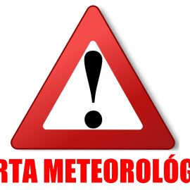 Meteorologia – Alerta Vermelho