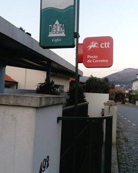 """Posto CTT (Correios) no """"Café da Mota"""""""