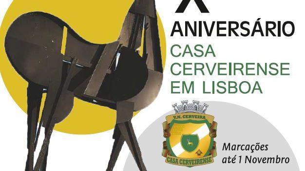 Almoço/convívio na Casa Cerveirense em Lisboa