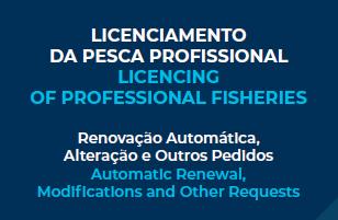 Licenciamento da Pesca Profissional 2020